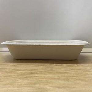 Bamboo Compostable Disposable Salad box